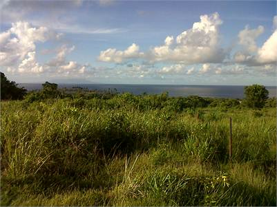 Land for Sale at La Fargue Choisuel St Lucia with Views of St Vincent