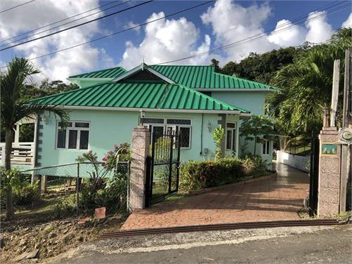 Newly Renovated 4 Bed House For Sale near the Morne Castries